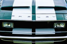 Muscle car photographs