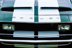 Muscle car photographs