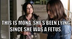 """Pretty Little Liars Quotes: Season 4, Episode 2 — """"Mona's Been Lying Since She Was a Fetus"""" (PHOTOS)"""