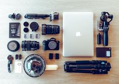 """My wife and I are about to spend the next 5 weeks exploring Europe - we're calling it the Hollow Creative Annual Conference #businessexpense  It's important we take the necessary equipment to deliver high quality photo  video but without overloading the suitcase. In fact my hope is to fit the following shot kit in my backpack.  Sony A7r ii - E mount Metabones T adapter Sigma 50mm 1.4 Canon 16-35mm 2.8 DJI osmo X3 Go Pro Hero 4 Silver Syrp Genie Mini MacBook Pro 15"""" Sirui Tripod Apple iPhone…"""