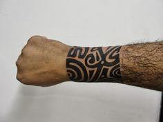 Tattoo maori - bracelete