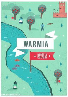 Warmia Rebelia Kultury - POSTER STGU on Behance http://martynawojcik.blogspot.com/