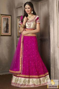 Show your attitude in this beautiful dark pink santoon net lehenga choli online at low price in India. Buy online this designer lehenga choli with discount offer. #lehengacholi, #lehengastyle, #navaratrigarbacholi, #chaniyacholi, #ghaghracholi, #weddingbridalcholi, #discountoffer, #festivalcholi, #pavitraafashion, #utsavfashion, #georgettelehengacholi, #darkpinklehengacholi http://www.pavitraa.in/store/lehengha-choli/ callus:917698234040