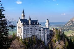 Neuschwanstein Castle in Germany. Prince Rupprecht - Last of Royalty to live in the castle with the country under King rule. I love this castle. Castle Pictures, Romantic Road, Germany Castles, Neuschwanstein Castle, Fairytale Castle, Beautiful Castles, Adventure Is Out There, Germany Travel, Places To See