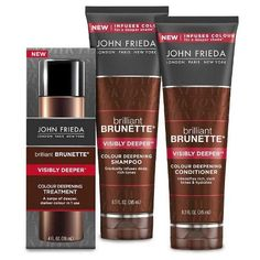 JOHN FRIEDA® Brilliant Brunette® Visibly Deeper™