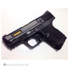 Salient Arms International Smith and Wesson M&P Compact Tier One with flat-faced trigger.