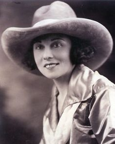 """Florence Hughes Randolph : trick rider, bronc rider, motorcycle racer. Her granddaughter is in my book """"Wild Women and Tricky Ladies"""" and of course, so is she."""