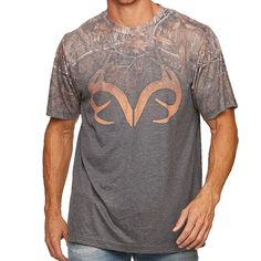 REALTREE Xtra deer Buck antlers Hunter HUNTING New MEN/'S T-Shirt /& HAT Cap SET