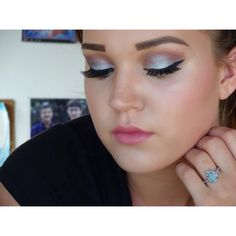 BH cosmetics Galaxy chic palette. Love this purple and blue eye makeup look!