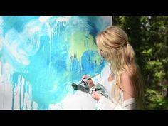 Dana Lynne Andersen, Live Painting - YouTube