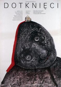 Stasys Eidrigevicius: The Touched, Polish Movie Poster