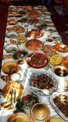 Afghanistan : Extrem Hospitality always - Afghani food