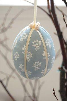 #Páscoa: Decore esta ideia | 5 ideias para #decorar #ovos #HappyEaster #recortes #tecido