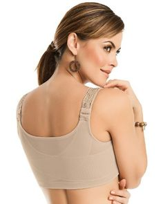 48ba5ab0000e0 Posture Corrector Wireless Back Support Bra- Leonisa