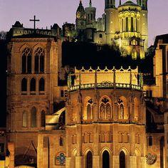 #businesstravel Excited to visit Lyon Cathédrale Saint-Jean et Basilique de Fourvière