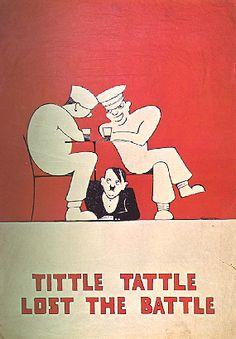 WWII British Propaganda poster