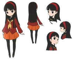 Yukiko Concept from Persona Q: Shadow of the Labyrinth
