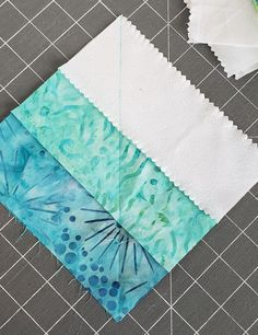 Sew Block Quilt Seaside Squares Lap Quilt (easy square in square quilt block tutorial) - Scattered Thoughts of a Crafty Mom by Jamie Sanders - Quilt Square Patterns, Beginner Quilt Patterns, Jelly Roll Quilt Patterns, Quilt Block Patterns, Quilt Tutorials, Square Quilt, Jelly Roll Quilting, Hexagon Quilt, Quilting Ideas