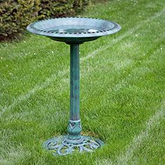 Special Offers - Alpine Resin Classic Scroll Base Bird Bath - In stock & Free Shipping. You can save more money! Check It (August 30 2016 at 09:51AM) >> http://birdhouseusa.net/alpine-resin-classic-scroll-base-bird-bath/