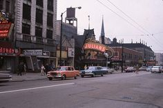 chgo ave near rush 1962