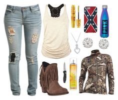 """""""I Want That Shirt :O"""" by im-a-jeans-and-boots-kinda-girl on Polyvore featuring Wet Seal, Dingo, Full Tilt, Maybelline, Accessorize and Icebreaker"""