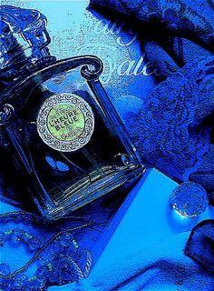 A lovely scent for our lady: L'Heure Bleue de Guerlain