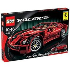 """Looking for great deals on """"LEGO Racers Ferrari 599 Gtb Fiorano""""? Compare prices from the top online toy retailers. Save big when buying your favorite LEGO sets. Ferrari F40, Ferrari Logo, Lego Ecto 1, Lego Lego, Gta, Porsche Model Cars, 2018 Dodge Challenger Srt, Ferrari Spider, Shopping"""