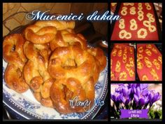 Mucenici Bagel, Deserts, Gluten, Food, Vegetarian, Diet, Brioche, Essen, Postres
