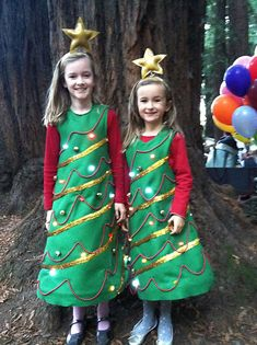 Light Up Christmas Tree Costume: 4 Steps (with Pictures) xmas dress up ideas Christmas Tree Costume Diy, Christmas Tree Outfit, Christmas Trees For Kids, Noel Christmas, Christmas Costumes, Ugly Christmas Sweater, Christmas Pageant, Christmas Scenes, Disney Christmas