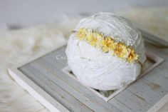 FLORAL COLLECTION Newborn Photo Prop by CastAwayCollection