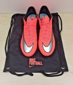 Nike Mercurial Vapor X FG ACC Mango Silver 648553 804 Soccer Cleats Men Sz  12.5   eBay 721d1b8f035