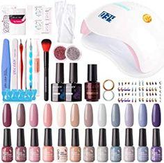 brands of gel nail polish brands of gel nail polish brands of gel nail polish Gel Nail Polish Brands, Nail Polish Kits, Best Gel Nail Polish, Gel Manicure At Home, Manicure Tools, Uv Nail Lamp, Popular Nail Art, Gel Nail Colors