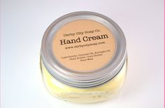 Hand cream all natural skin care products by derbycitysoapco 10 00