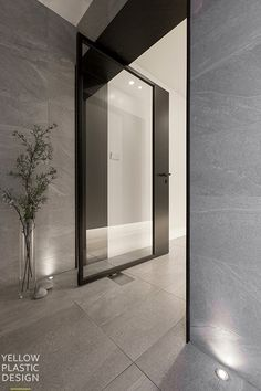 Home Room Design, Living Room Designs, House Design, Door And Window Design, Door Design, House Front Door, House Entrance, Modern Interior, Interior Architecture