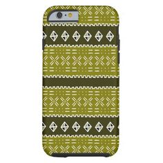 Modern Mud Cloth Pattern iphone 6 case