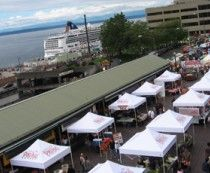 Pike Place Market in Seattle .. Home of Starbucks :) and a bunch of other awesome stuff