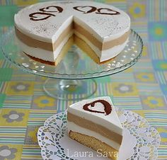 Tort Latte Macchiato | Retete culinare cu Laura Sava Latte Macchiato, Good Food, Yummy Food, Delicious Deserts, Cake Decorating, Bakery, Food And Drink, Dessert Recipes, Cooking Recipes