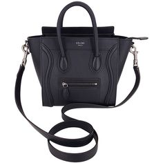 celine bag worn on hand or shoulder