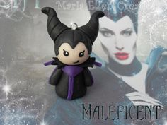 Disney's Maleficent inspired polymer clay by MariaEllenCreations ... This is so cute