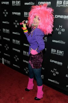 News Photo : Carrie Keagan attends Heidi Klum's 12th annual...