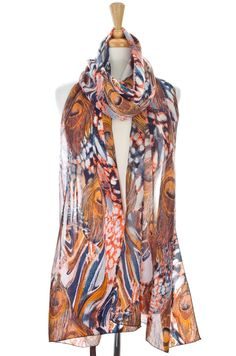 Donna Diosa-Mosaic Inspired Scarf $14.99