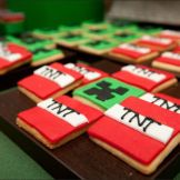 Festa Tema Minecraft Comida