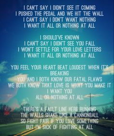 All or nothing-switchfoot