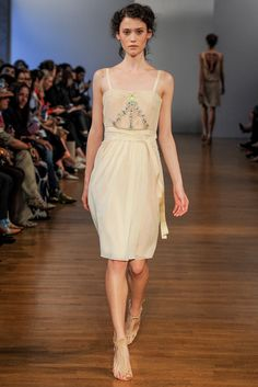 Collette Dinnigan S/S 2014 Ready to Wear PFW
