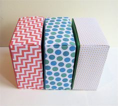 Party Favor Gift Boxes  Spring Colors  Assortment of by IFeltFuzzy, $20.00