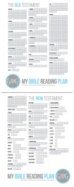 Good Morning Girls Bible Reading Plan . . . I really like the layout of this printable Bible reading plan . . . easy to check off and keep track of your reading records.