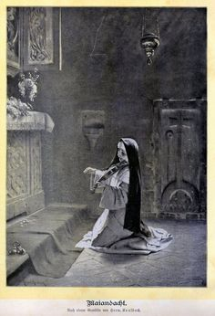 Nun playing the violin to Jesus. When I was a child, I wanted to be just like her. This picture I saw in Birgitta Yavaris beautiful book. And still after all these years, this picture is so touching, so beautiful.