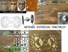 Antenas Esfericas Fractales de Marte