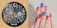 1Pc Nail Art Stickers Manicure Stamping Plates Premium Series Style H13 -- Want to know more, click on the image.