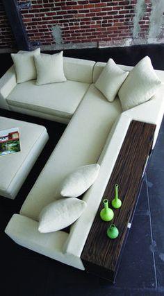 La sala: me gusta sofá